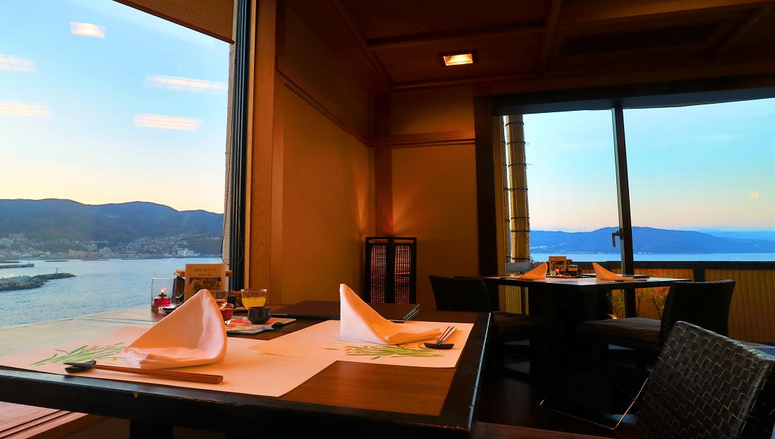 最上階レストラン【蒼海】