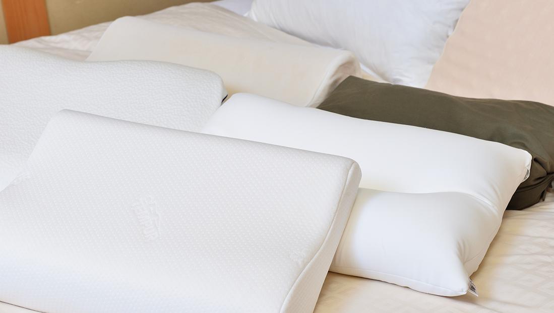 選べる枕で快適な睡眠を